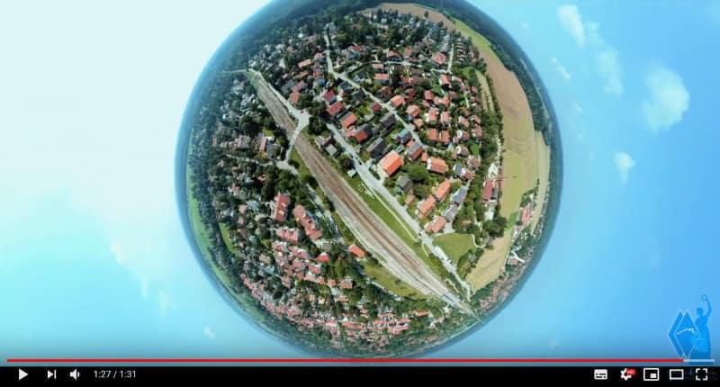 Drohnenvideo Immobilienmakler