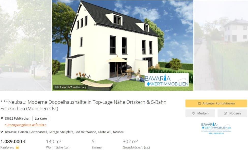 Haus verkauf Feldkirchen Immobilienmakler