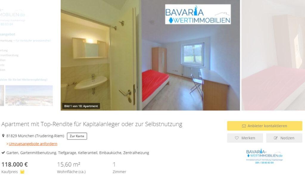 Apartment Riem München verkauft Immobilienmakler Ottobrunn