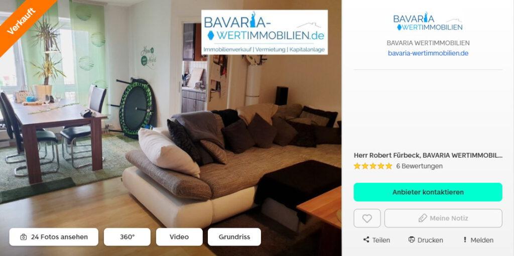 Kapitalanlage Wohnung Günzburg Makler