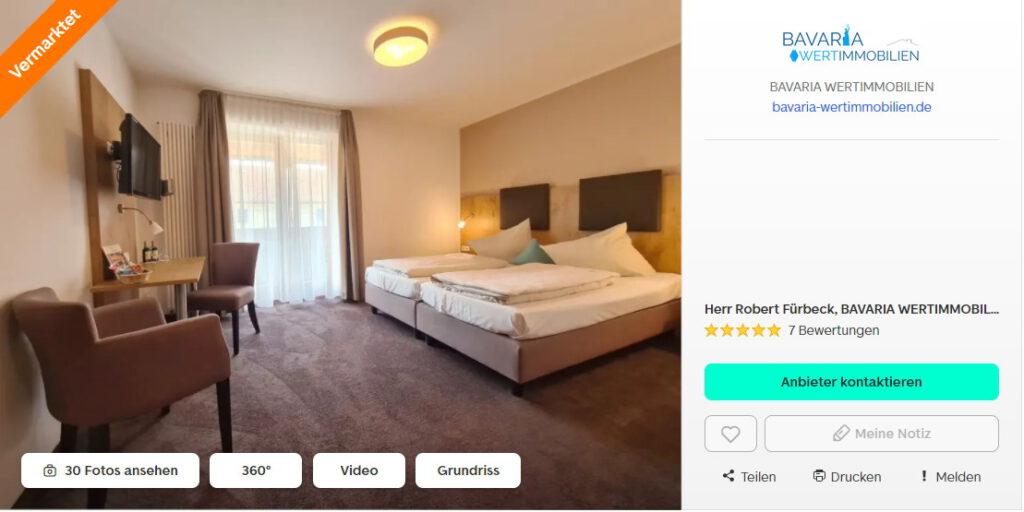 hotel gewerbeimmobilie verpachtet vermietet unterbiberg neubiberg