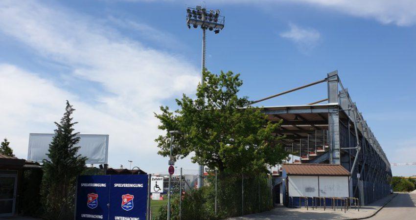 Stadion Unterhaching Verkauf