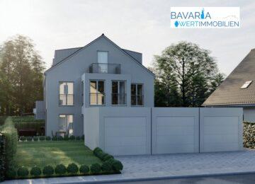 ***Neubau-3-Spänner mit gehobener Ausstattung in absoluter Top-Lage in München-Haar!, 85540 Haar, Reihenendhaus
