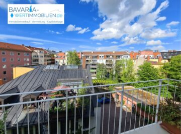 Rarität Nähe Gärtnerplatz – 3 Zimmer, Aufzug, Balkon!, 80469 München, Etagenwohnung