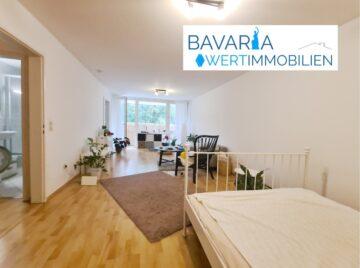 Großzügiges 1-Zimmer-Apartment mit Blick ins Grüne, 82008 Unterhaching, Apartment