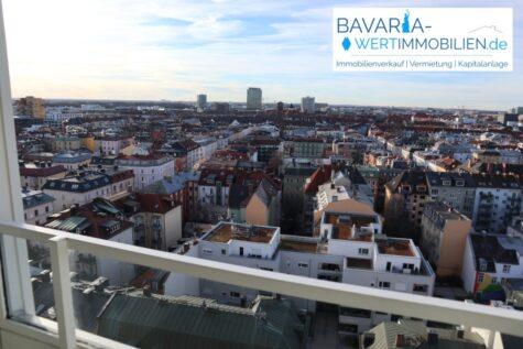 Traumhafte 2-Zimmerwohnung mit exklusiver Aussicht – zentral im Herzen Münchens (Theresienwiese), 80339 München, Etagenwohnung