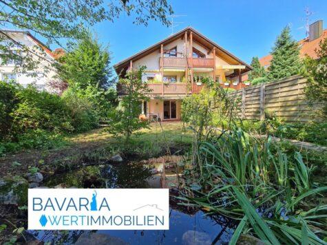 Exklusive 3,5 Zimmer Gartenwohnung mit über 145 m² Wohn- und Nutzfläche!, 81739 München, Erdgeschosswohnung