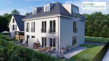 Neubau-Doppelhaushälfte mit gehobener Ausstattung in Riem, 81829 München, Doppelhaushälfte