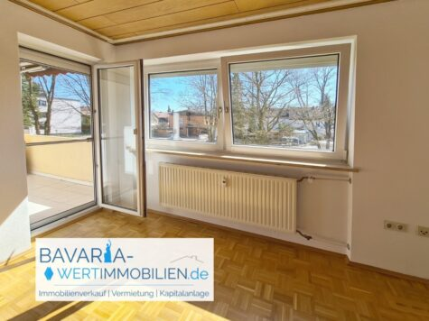 3-Zimmer-Wohnung mit Südbalkon und grüner Umgebung – zentral in Ottobrunn, 85521 Ottobrunn, Etagenwohnung