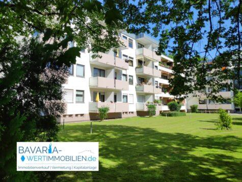 Schöne und praktische 1-Zimmer-Wohnung – mit Blick ins Grüne – Erbpacht, 81737 München, Etagenwohnung