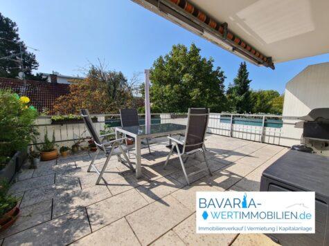 4-Zimmer-Dachterrassenwohnung inkl. großem Hobbyraum – ideal für Familien, 82140 Olching, Etagenwohnung