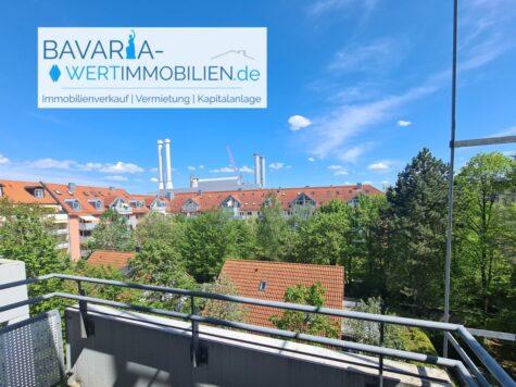 Helle 3-Zimmer-Wohnung mit 2 Balkonen und U-Bahn Nähe in Sendling, 81371 München, Etagenwohnung